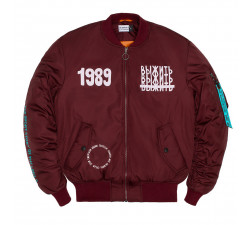 TOTALDEMOCRATIE Burgundy Men's